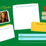 Activitate pentru elevi - Isaac Newton